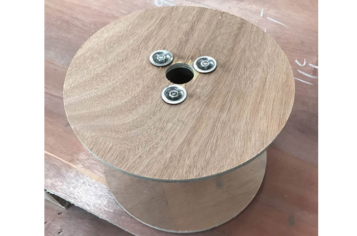 光缆木卷线盘