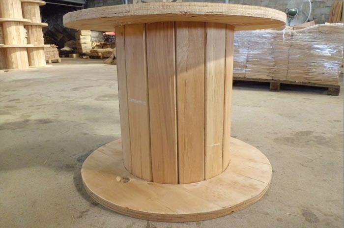 木电缆轴盘